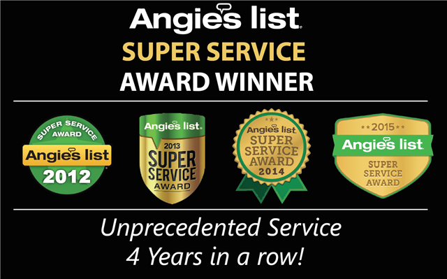 Angie's List Awards for Confident Coatings