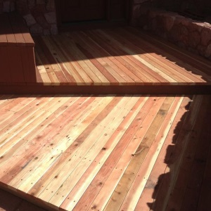 Colorado Springs Deck Staining