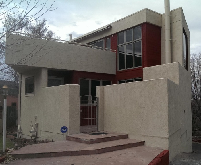 After Confident Coatings Stucco