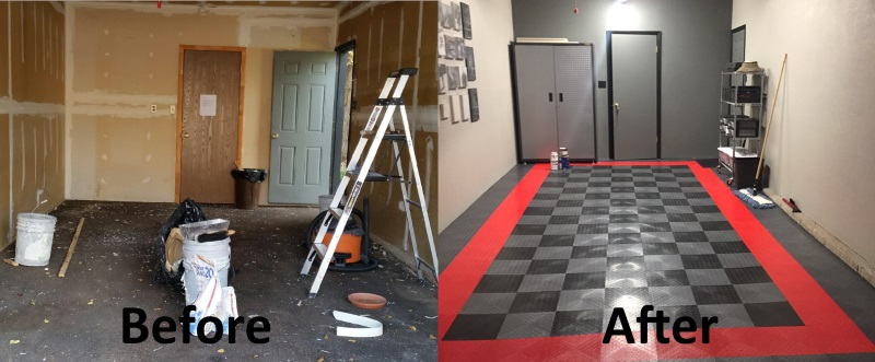 . Interior Garage Renovations   Confident Coatings